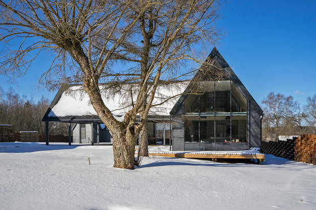 Современный Фасад дома by MakHouse