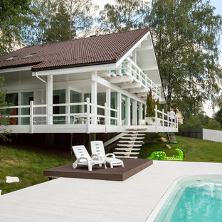Идея дизайна: дом в скандинавском стиле