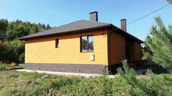 Дом по индивидуальному проекту площадью 139 кв.м.