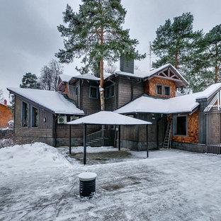 Свежая идея для дизайна: дом в современном стиле - отличное фото интерьера