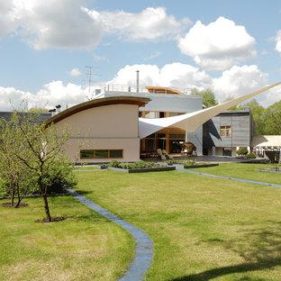 Стильный дизайн: частный загородный дом в современном стиле - последний тренд