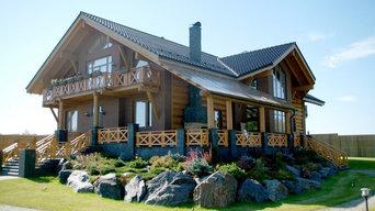 Дом в стиле Рустика