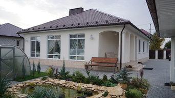 Дом в восточно-европейском стиле