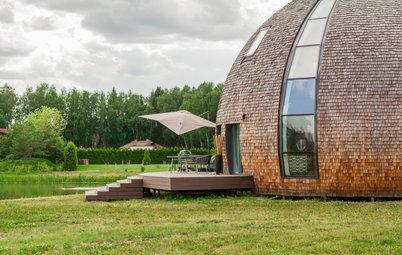 В гостях: Купольный дом у воды — для семьи с тремя детьми