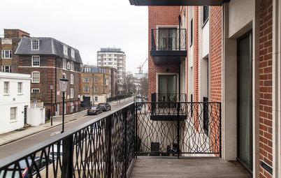 Houzz Британия: Квартира в Лондоне для русских заказчиков