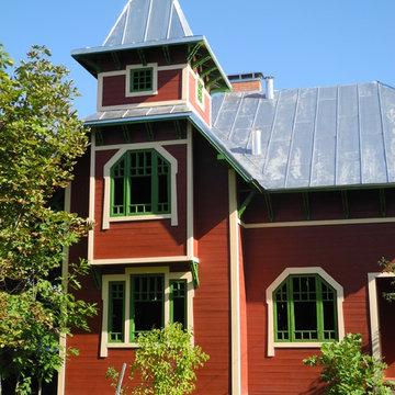 Проект каркасного дома в стиле Модерн