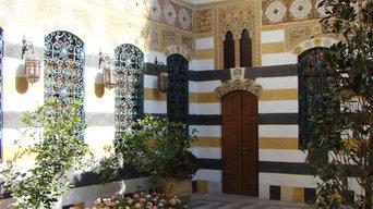 Ресторация исторический дом в Дамаске