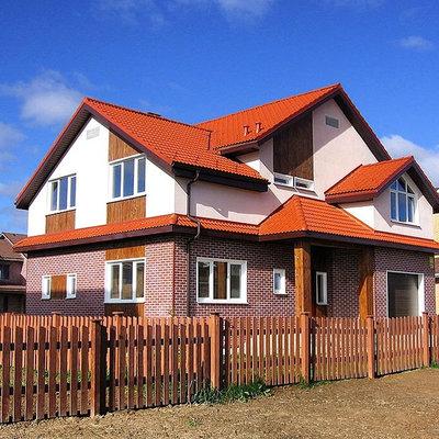 Современный Фасад дома by СК-Дом