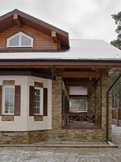 Современный Фасад дома by Палисандр дизайн