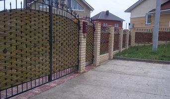 забор и ворота из ивы в Набережных Челнах