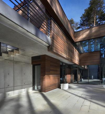 Современный Фасад дома by Олег Истомин