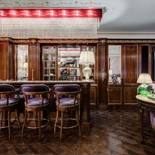 Стильный дизайн: домашний бар в викторианском стиле - последний тренд
