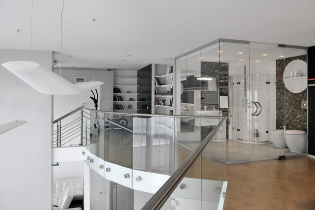 Contemporary Home Gym by Art & Heart