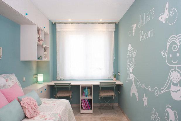 Contemporáneo Dormitorio infantil by Fran Clausell · Interiorismo Sostenible