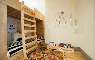 Cómo amueblar y distribuir habitaciones infantiles pequeñas