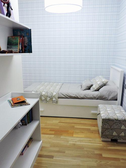 Chambre d 39 enfant moderne avec sol en stratifi photos et for Taille minimum d une chambre