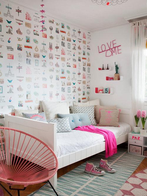 Fotos de habitaciones para beb s y ni os dise os de for Habitaciones juveniles nordicas