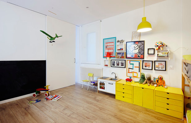 Contemporáneo Dormitorio infantil by TheHallStudio