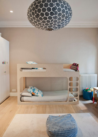 Clásico renovado Dormitorio infantil by Bluetomatophotos