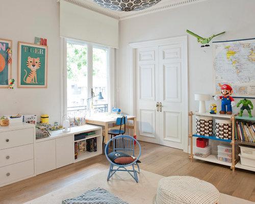 foto de dormitorio infantil de a aos tradicional renovado de tamao medio
