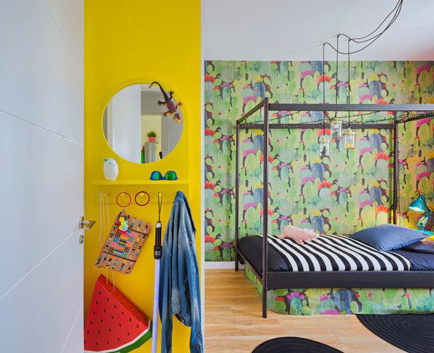Ecléctico Dormitorio infantil by Masfotogenica Interiorismo