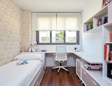 Proyecto de decoración de una luminosa vivienda en Madrid
