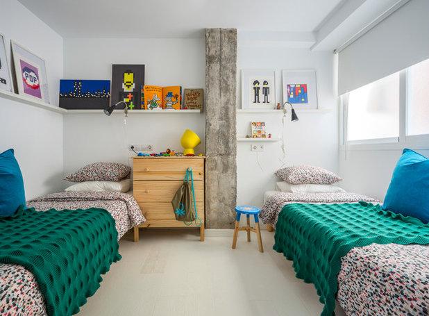Nórdico Dormitorio infantil by Masfotogenica Interiorismo