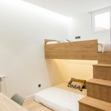 Reforma Integral: Piso compartido de 5 dormitorios.