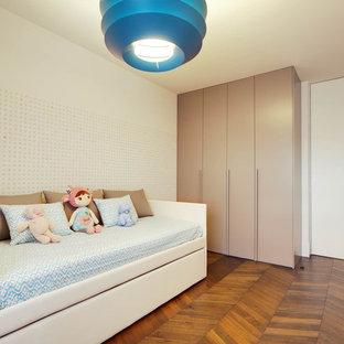 Modelo de dormitorio infantil de 4 a 10 años tradicional renovado