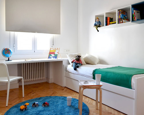 chambre d 39 enfant scandinave de taille moyenne photos et id es d co de chambres d 39 enfant. Black Bedroom Furniture Sets. Home Design Ideas
