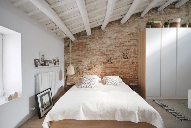 Mediterranean Bedroom by Abrils Studio