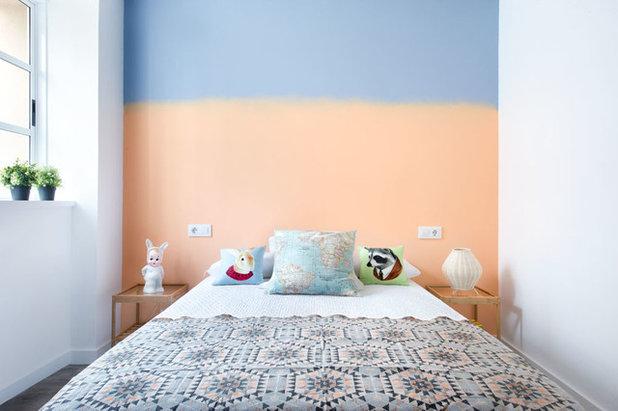 トランジショナル 寝室 by Egue y Seta