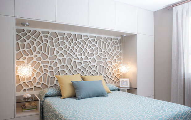 Contemporáneo Dormitorio by Fran Clausell · Interiorismo Sostenible