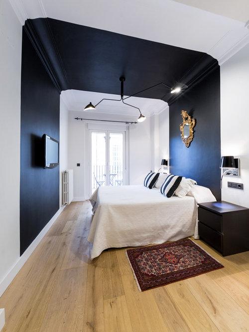Ideas para dormitorios | Fotos de dormitorios con paredes negras