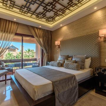 asian style luxury apartment