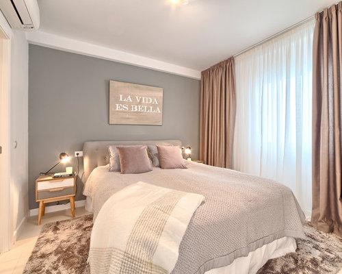 Schlafzimmer mit Keramikboden und bunten Wänden Ideen, Design ...