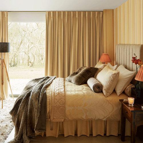Ideas para dormitorios fotos de dormitorios con paredes - Habitaciones amarillas ...