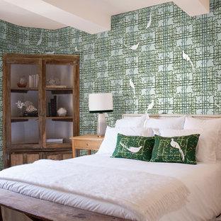 Foto de dormitorio principal ecléctico