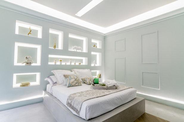 Contemporáneo Dormitorio Casa Decor 2015