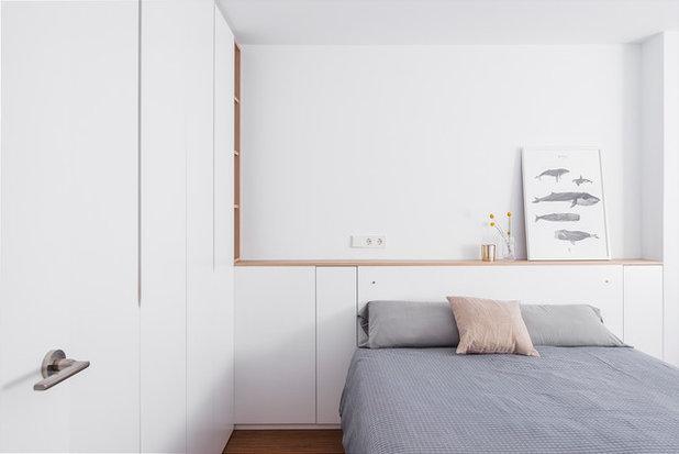 Современный Спальня by Himera Estudio