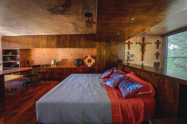 Contemporáneo Dormitorio by P + 0 Arquitectura