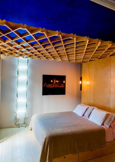 エクレクティック ベッドルーム by Alfredo Arias photo