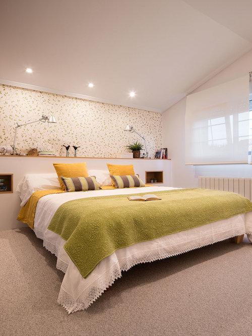 Chambre avec moquette Bilbao : Photos et idées déco de chambres avec ...