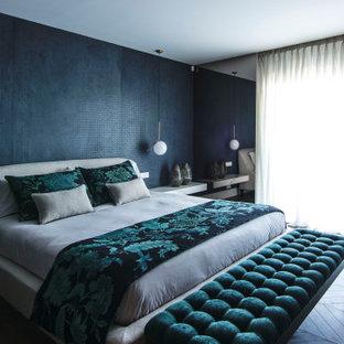 Modelo de dormitorio contemporáneo grande