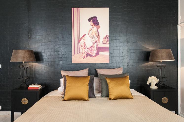 Современный Спальня Contemporáneo Dormitorio