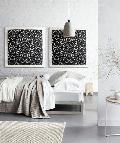 Asiático Dormitorio by Estudio Delier