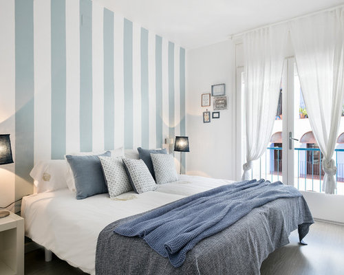 mittelgro e schlafzimmer ideen design bilder houzz. Black Bedroom Furniture Sets. Home Design Ideas