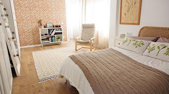 Dormitorio doble con vestidor #lahabitaciondelaluz
