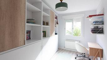 Dormitorio invitados y zona estudio