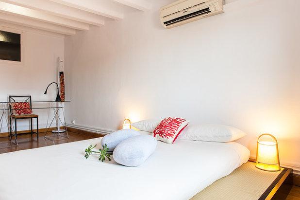 Asiático Dormitorio by Markham Stagers